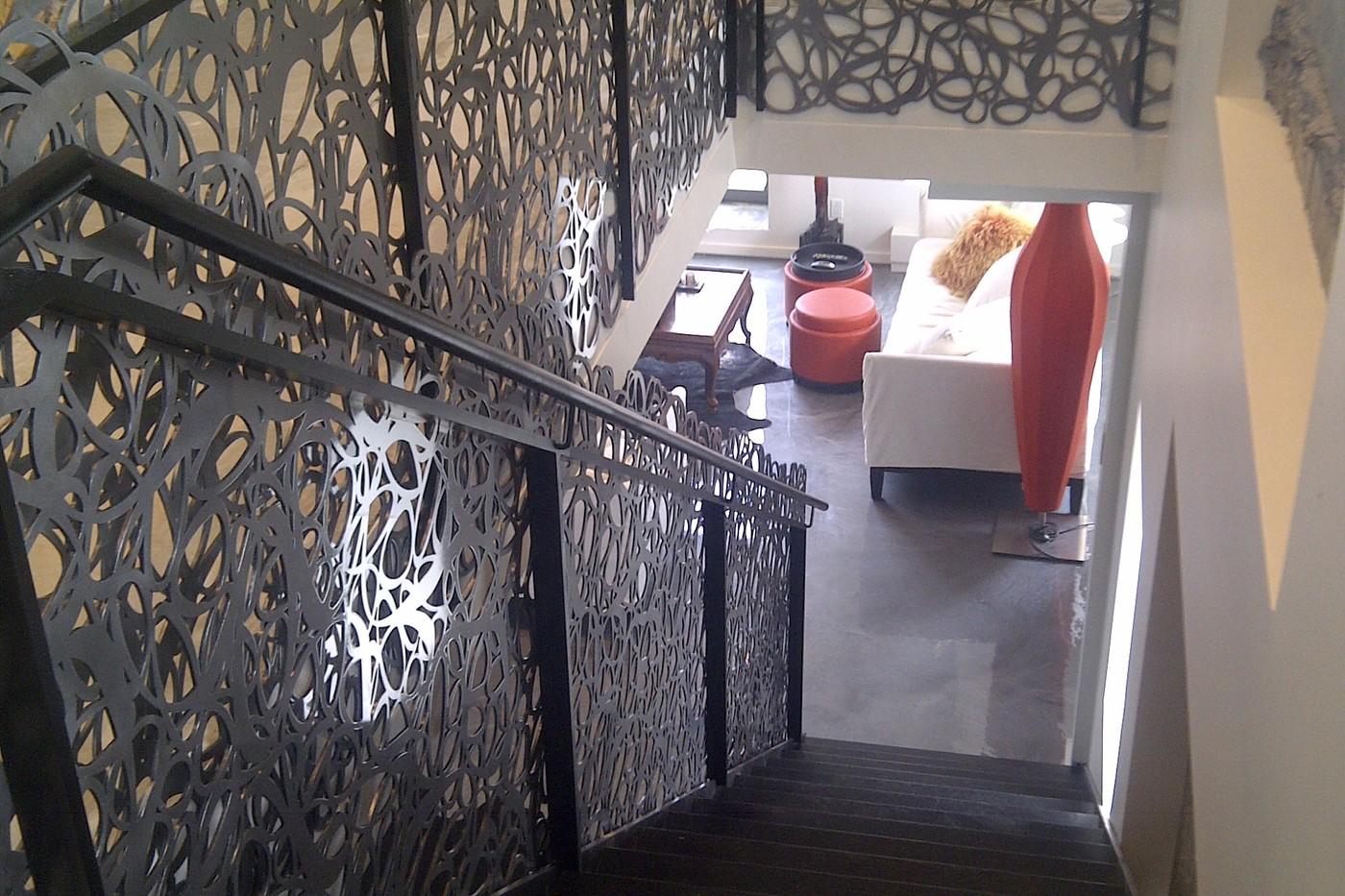 Escaliers et planchers sur mesure boucherville for Escalier exterieur original