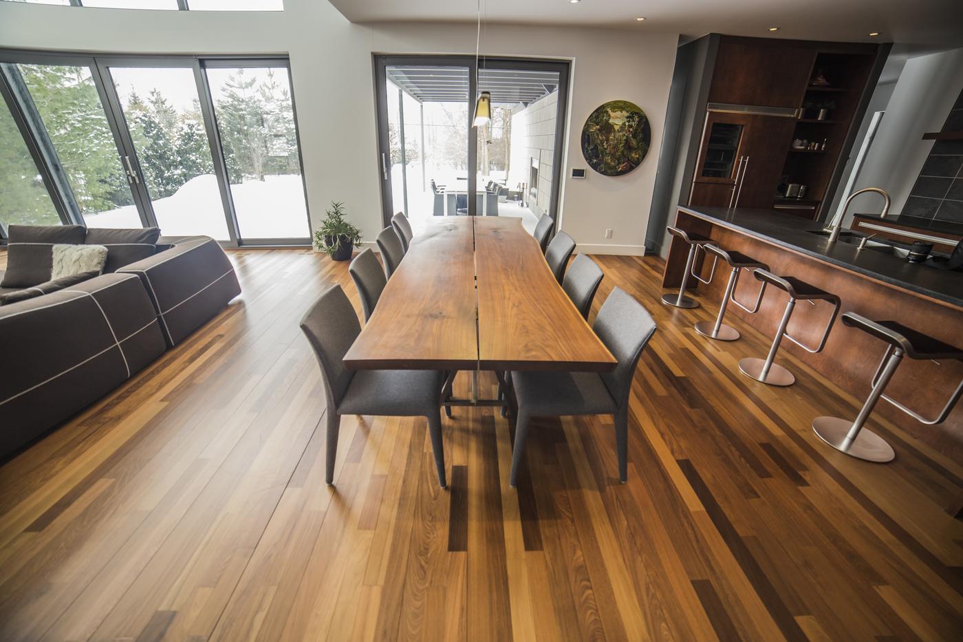 Escaliers et planchers sur mesure boucherville for Plancher de galerie exterieure